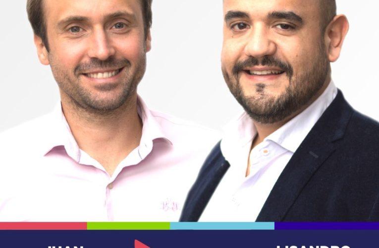 El precandidato a diputado nacional por la Lista 50A de Consenso Federal, Juan Manuel Rossi visitó Basavilbaso