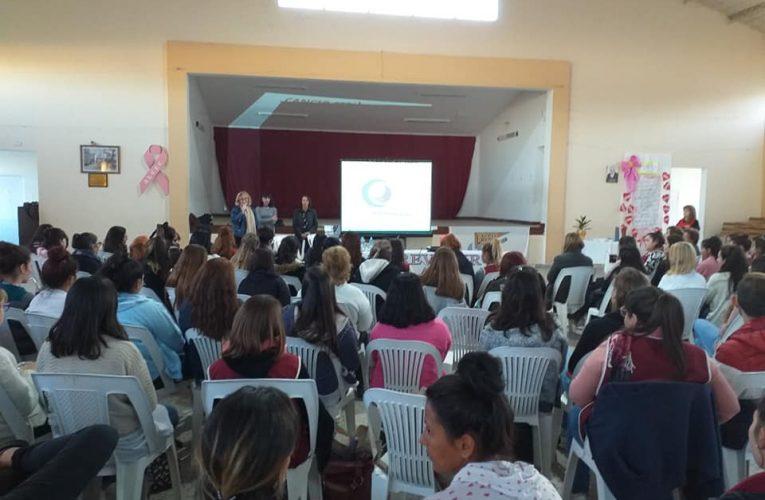 Lalcec Basavilbaso ofreció una charla sobre HPV y cáncer de cuello de útero con profesionales de Lalcec Villaguay