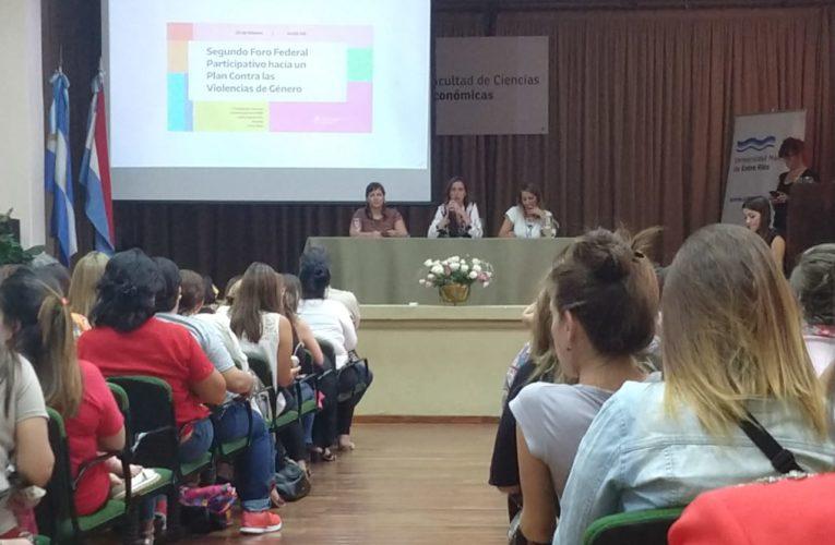 Participación del Municipio de Basavilbaso en el Segundo Foro Participativo para construir un Plan Contra las Violencia de Géneros
