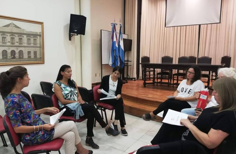 Reunión de representantes del Municipio de Basavilbaso con integrantes de la UNER