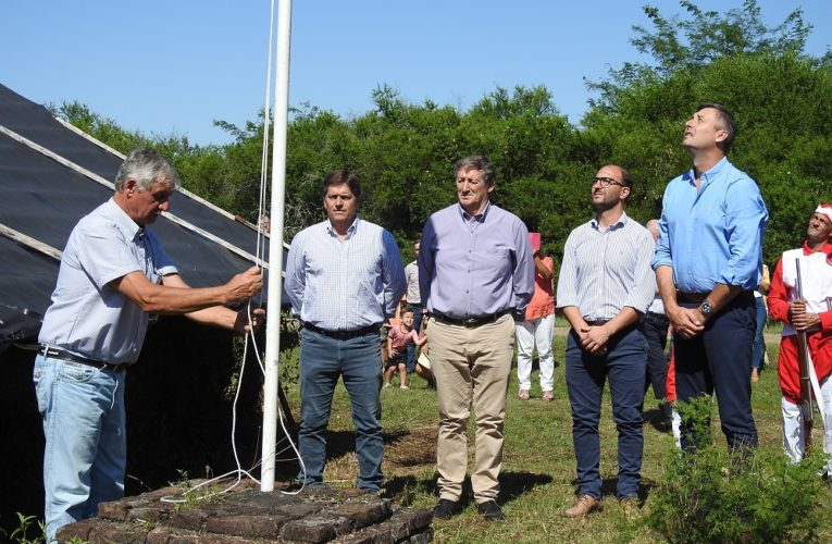 Acto de conmemoración de la Batalla de Caseros en Rocamora