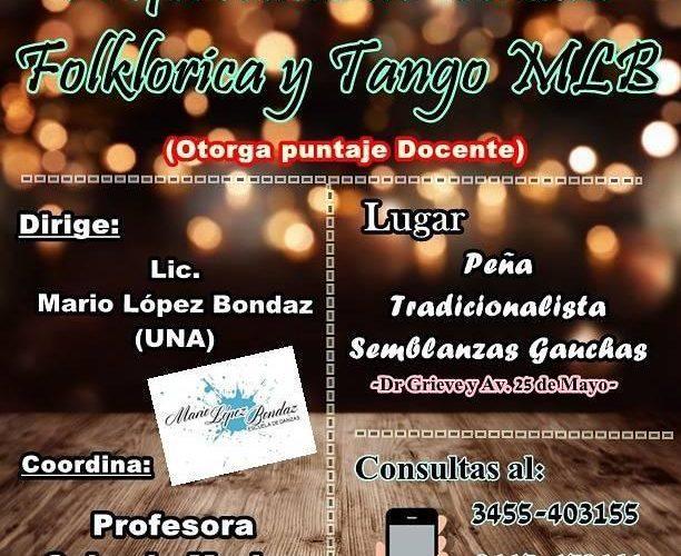 En la Peña Semblanzas Gauchas se dicta el Profesorado de Danzas Folclóricas y Tango