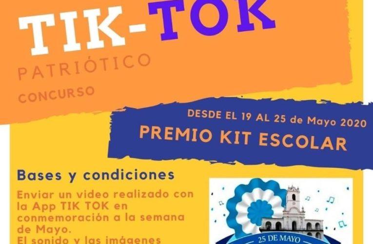La Escuela Técnica de Basavilbaso lanzó un concurso de Tik Tok para la Semana de Mayo