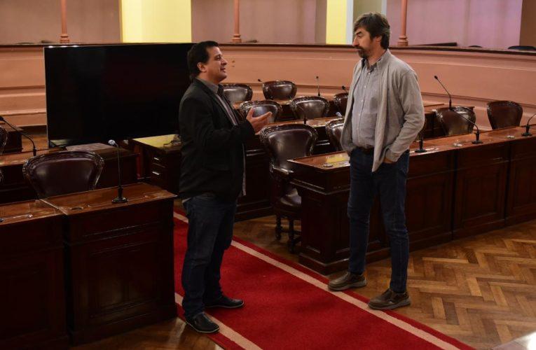 Diputados nacionales sesionarán desde la Cámara de Diputados de la Provincia