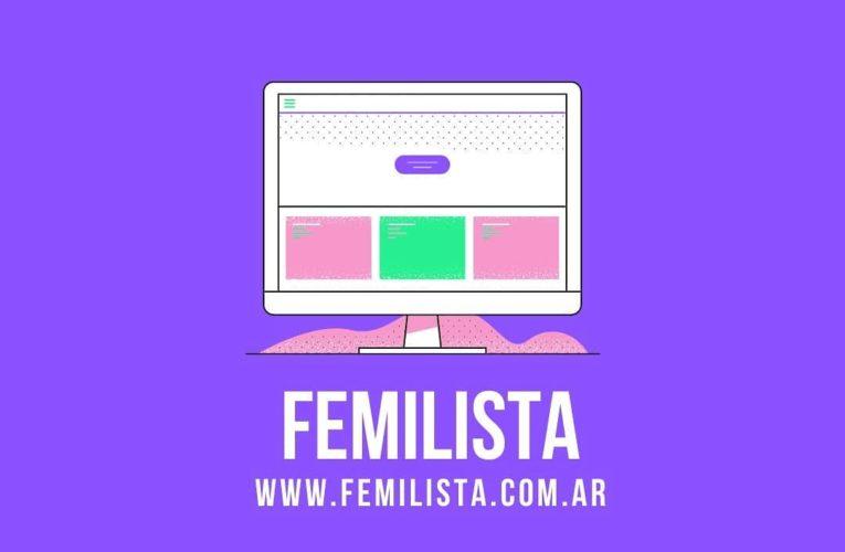 Se creó en Argentina FEMILISTA, una agenda de servicios feministas