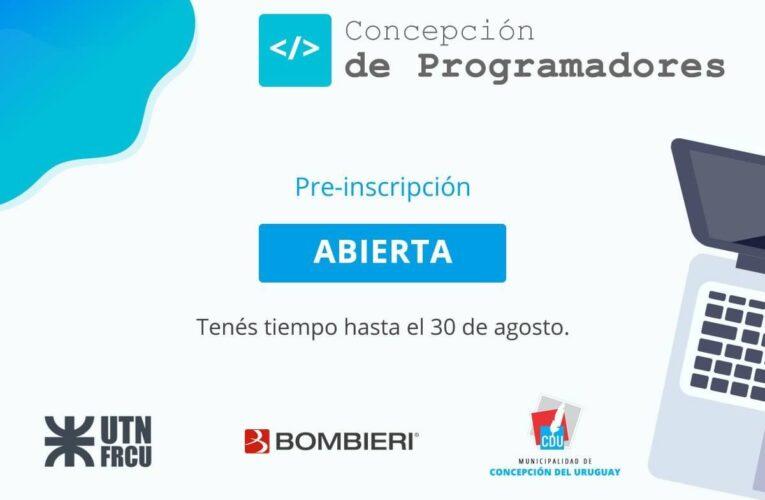 Concepción de Programadores: dictarán dos cursos gratuitos sobre programación
