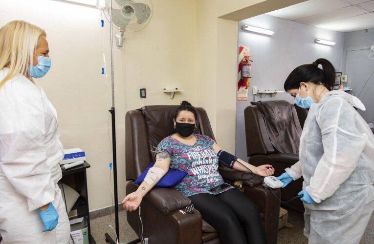 Más de 100 entrerrianos recuperados de covid donaron plasma