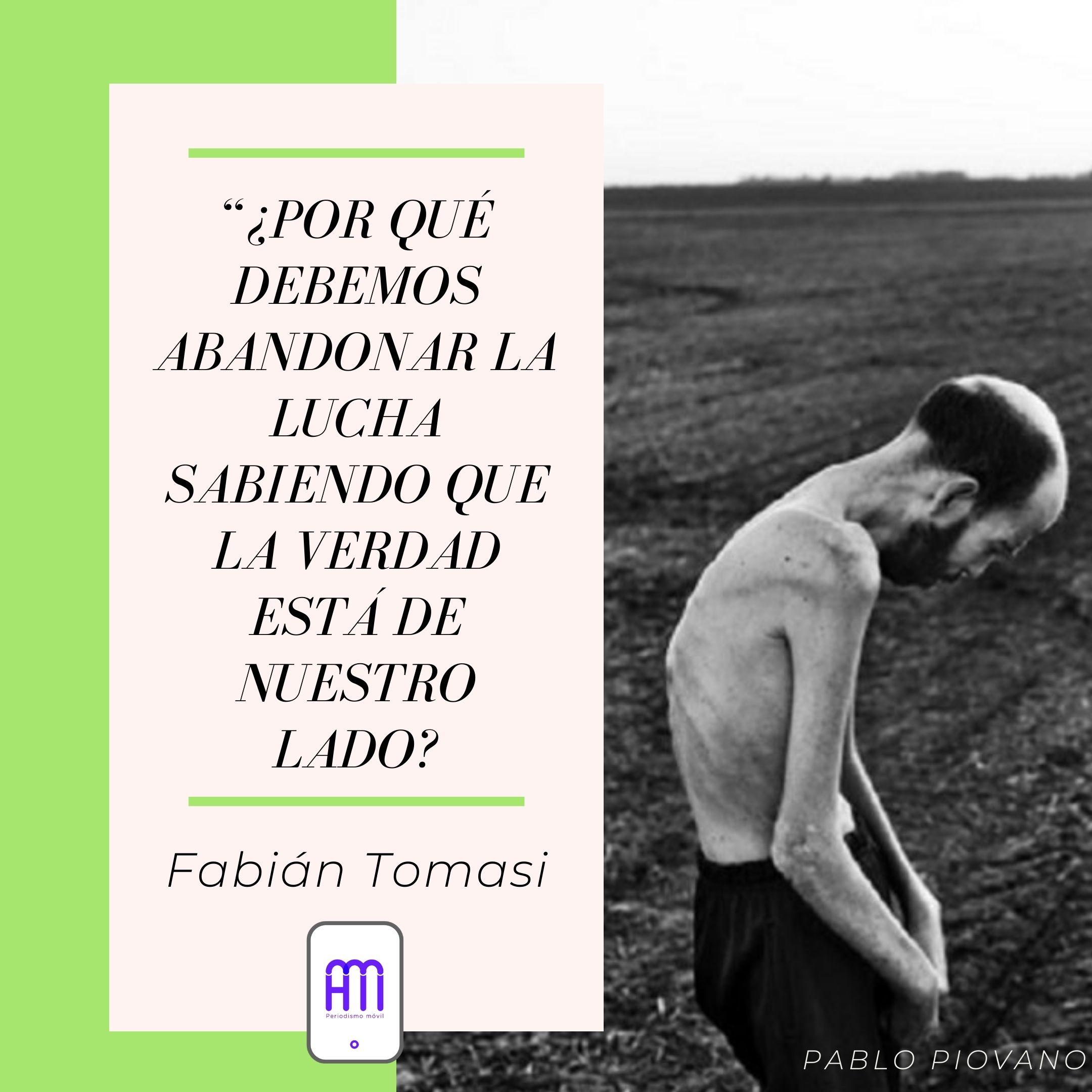 A dos años de la muerte de Fabián Tomasi