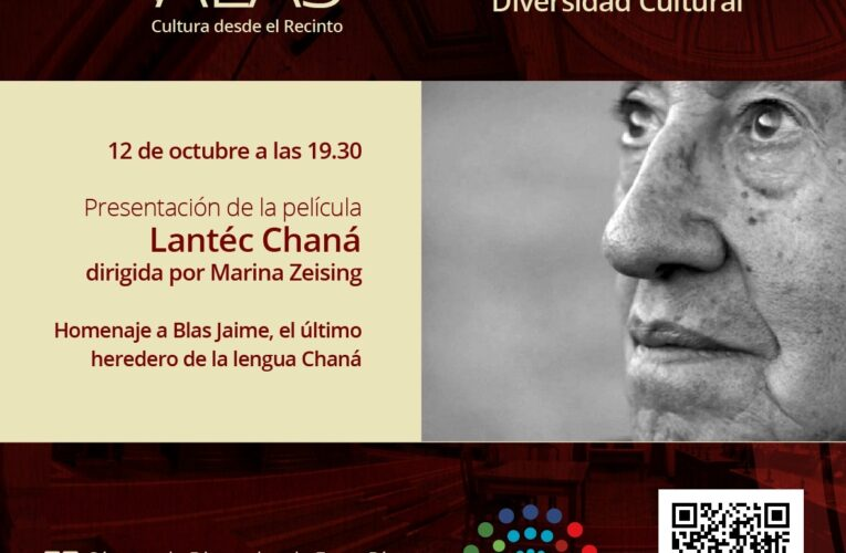 La Cámara de Diputados de Entre Ríos presentará el ciclo Alas con la proyección de la película Lantéc Chaná