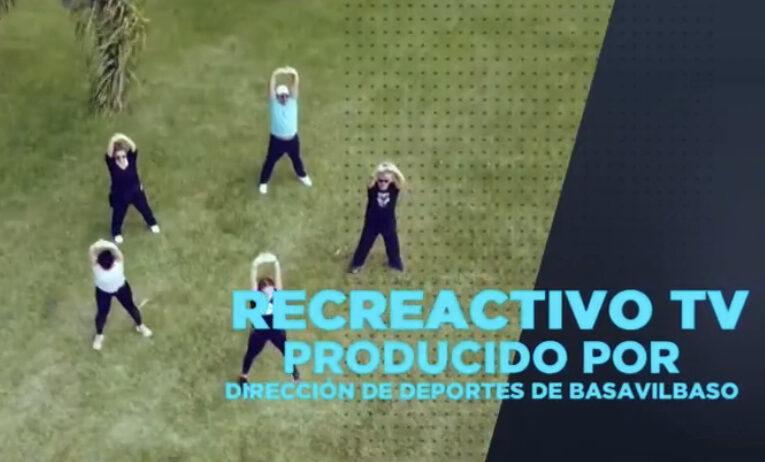 La Dirección de Deportes de Basavilbaso presenta Recreactivo TV