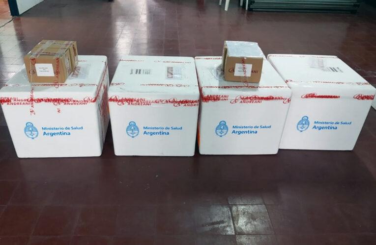 Entre Ríos recibió otras 2.000 dosis del primer componente de la vacuna Sputnik V