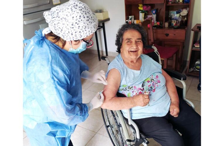 Este viernes comienza la vacunación a mayores de 70 años en Basavilbaso