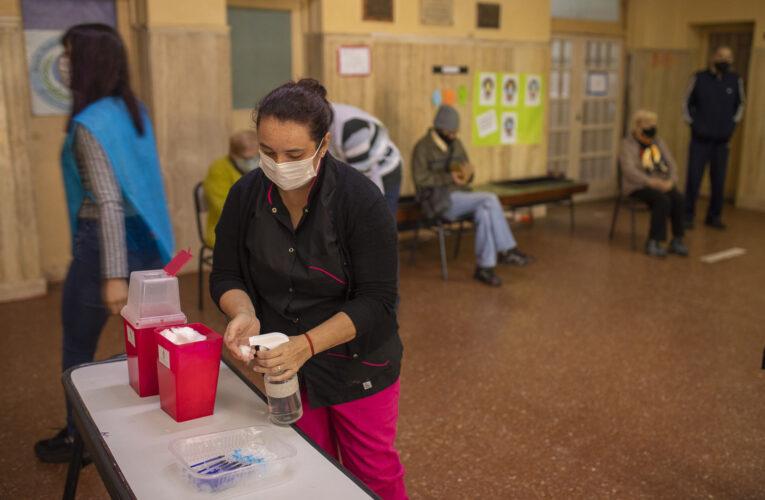 Entre Ríos alcanzó las 200.000 dosis de vacunas contra el Covid aplicadas