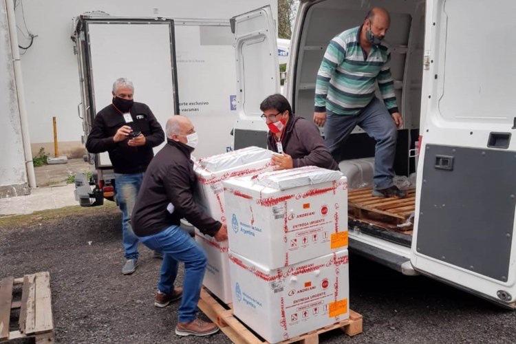 Llegaron a Entre Ríos otras 9.600 dosis de vacunas