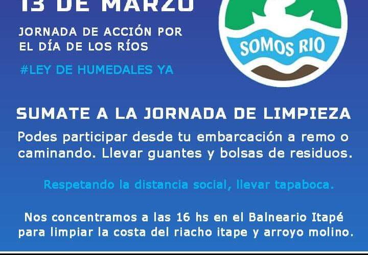 Concepción del Uruguay: jornada de acción por el día de los ríos