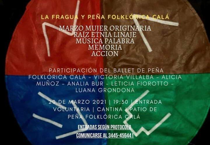 Este sábado en Basavilbaso se realizará una Peña por el Día de la Mujer Originaria de Entre Ríos