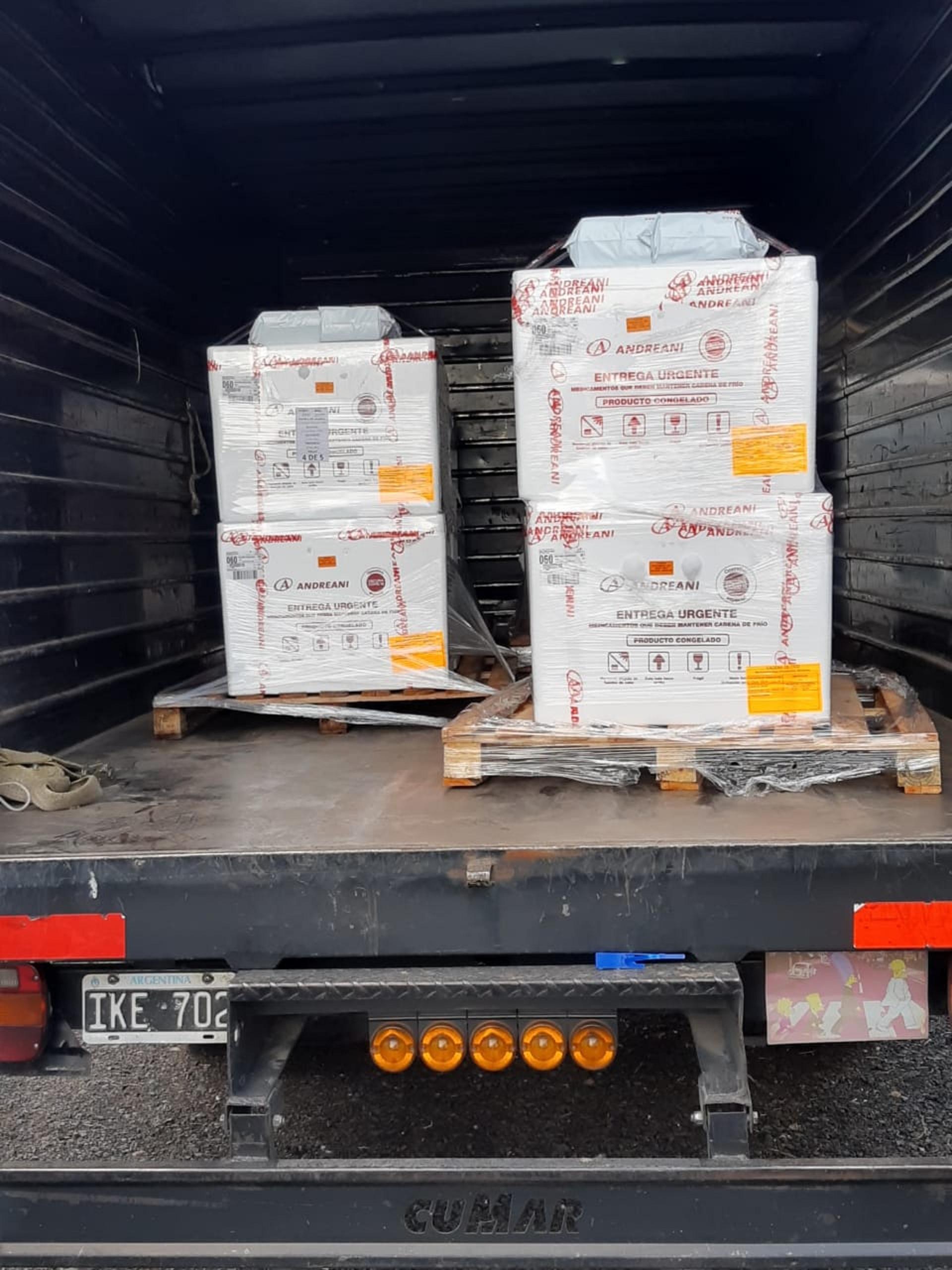 Entre Ríos recibió otras 3.600 dosis de la vacuna Sputnik V