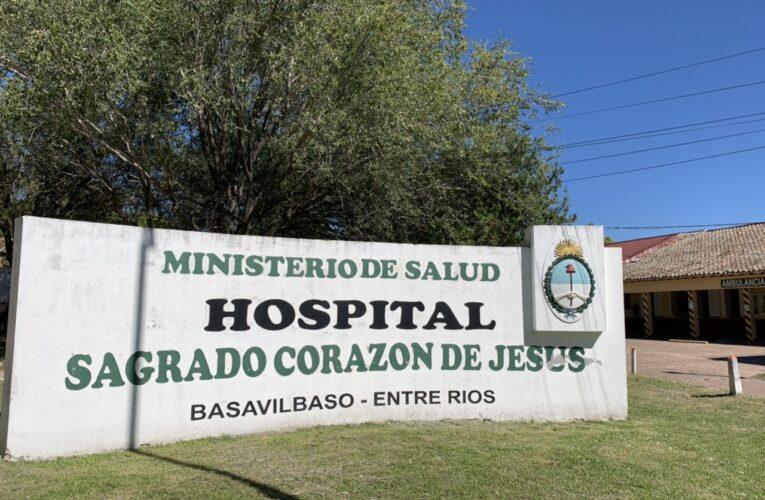 """""""El sistema de salud de Basavilbaso está muy complicado"""", dijo el Director del Hospital"""