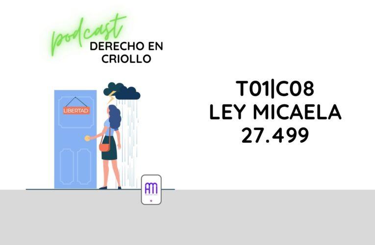 Derecho en Criollo T01E08: Ley Micaela 27.499