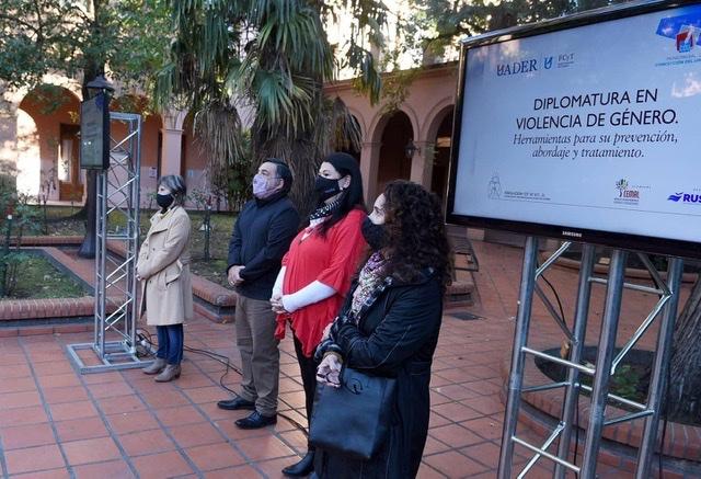 Concepción del Uruguayo: se presentó formalmente la Diplomatura en Violencia de Género