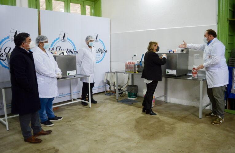 En Concepción del Uruguayo se puso en marcha oficialmente la pasteurizadora municipal