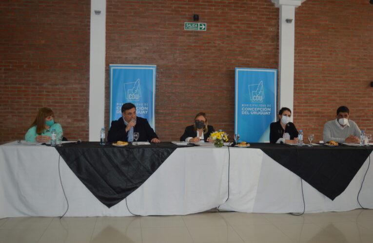 Concepción del Uruguay: con la presencia de la Ministra Marisa Paira, se reunió la Mesa local de Primera Infancia