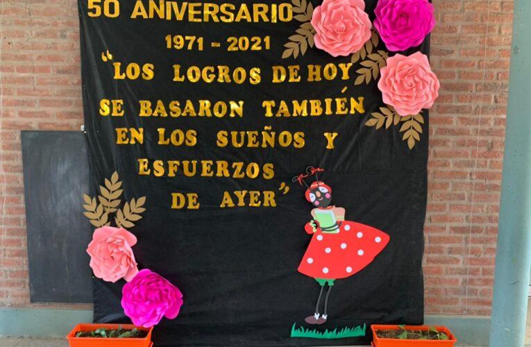 50° aniversario del Jardín de infantes La Hormiguita Viajera: Margarita Rimoldi