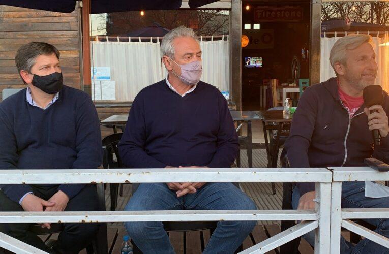 Frigerio y Benedetti, precandidatos a diputados de Juntos por Entre Ríos, visitaron Basavilbaso
