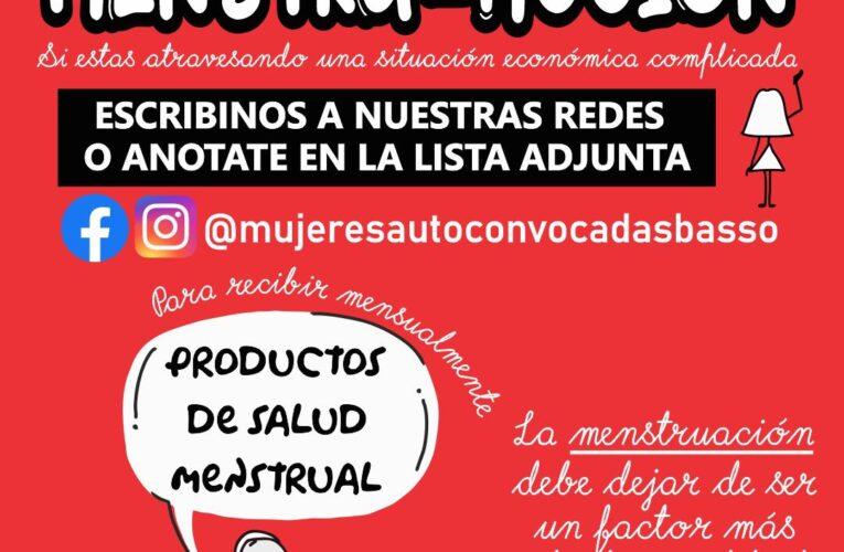 MAB Colectivo Feminista de Basavilbaso lanzó la campaña MenstruAcción