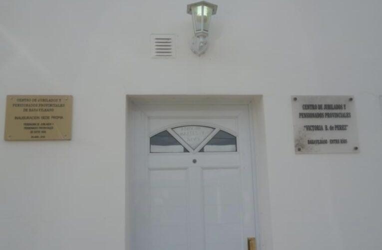 La Comisión Directiva de la Federación Entrerriana de Jubilados visitó el Centro de Basavilbaso